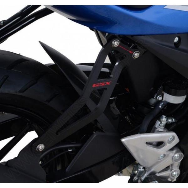 """R&G Racing Auspuffhalter """"RED"""" Suzuki GSX-S 125 / GSX-R 125 2017-"""