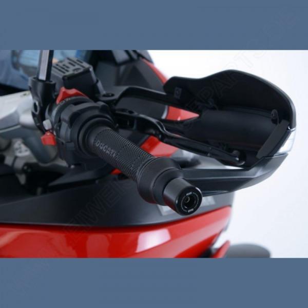 R&G Lenker Protektoren Ducati Multistrada 950 2017- / Hypermotard 950 2019-