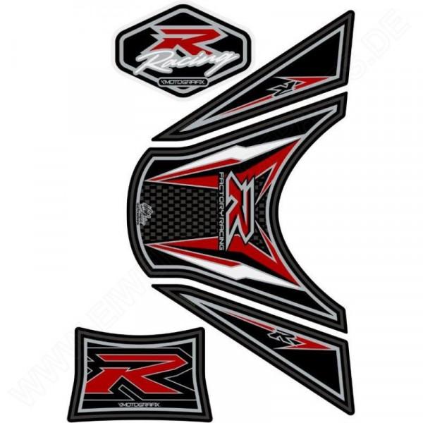 Motografix Racing Suzuki GSX-R 1000 3D Gel Tank Pad Protector TS025KR