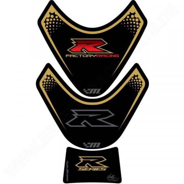 Motografix Suzuki GSX-R 600 750 1000 3D Gel Tank Pad Protector TS021KG
