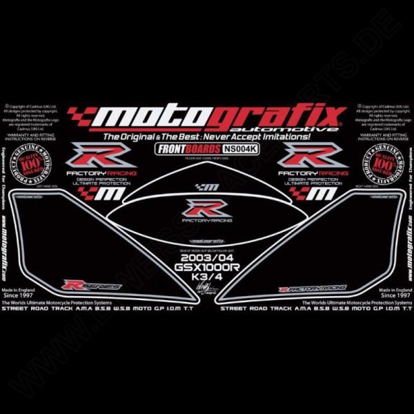 Motografix Steinschlagschutz vorn Suzuki GSX-R 1000 2003-2004 NS004K