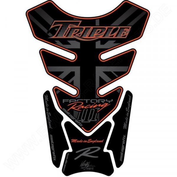 Motografix Triumph Triple Racing 3D Gel Tank Pad Protector TT014KO