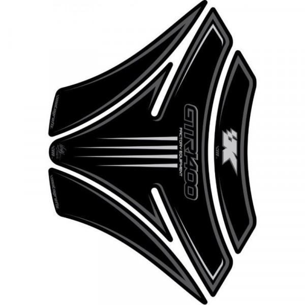 Motografix Kawasaki GTR 1400 Black 3D Gel Tank Pad Protector TK013K