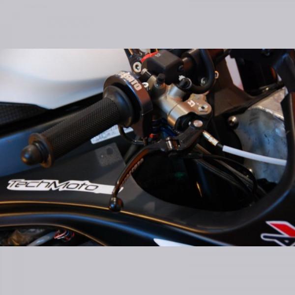 Accossato CNC Teflon Kurzhubgasgriff Triumph Daytona 675 2013-