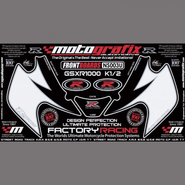 Motografix Steinschlagschutz vorn Suzuki GSX-R 1000 2001-2002 NS003U