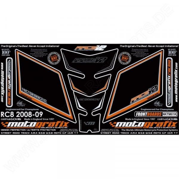 Motografix Steinschlagschutz Set KTM RC 8 NKTM01K