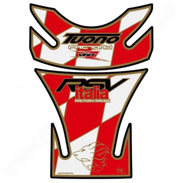 Aprilia RSV Tuono TA018WR Motorcycle Tank Pad Motografix 3D Gel Protector