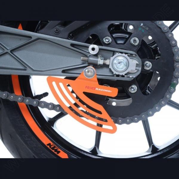 R&G Kettenfinne KTM Duke / RC 125 / 200 / 390 / Husqvarna Vitpilen / Svartpilen 701