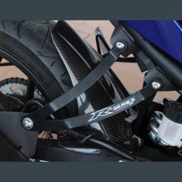 R&G Racing Auspuffhalter Set Yamaha YZF R25 / R3 2014-