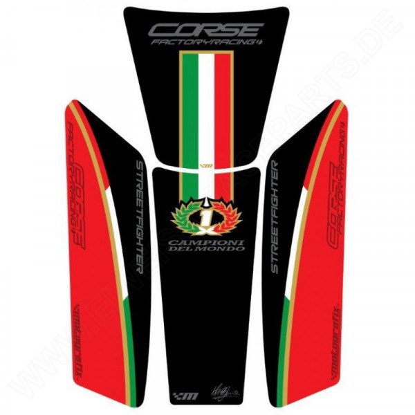 Ducati Streetfighter Motografix 3D Gel Tank Pad Protector TDSFR