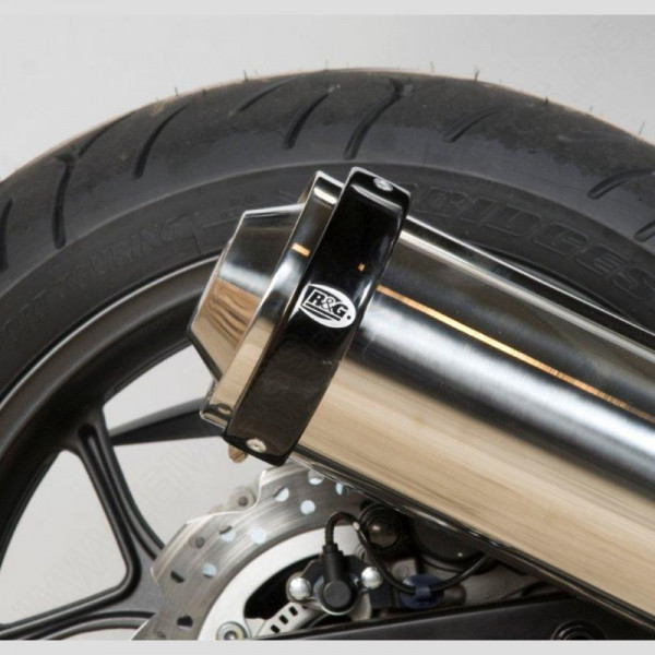R&G Racing Auspuff Protektor Honda NC 750 X / S 2014-2015