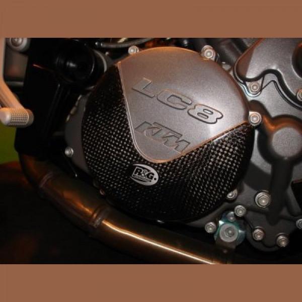 R&G Carbon Kevlar Kupplung Protektor KTM 990 SMT