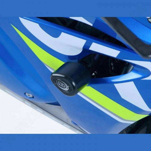 "R&G Racing Sturzpads ""No Cut"" Suzuki GSX-R 1000 2017-"