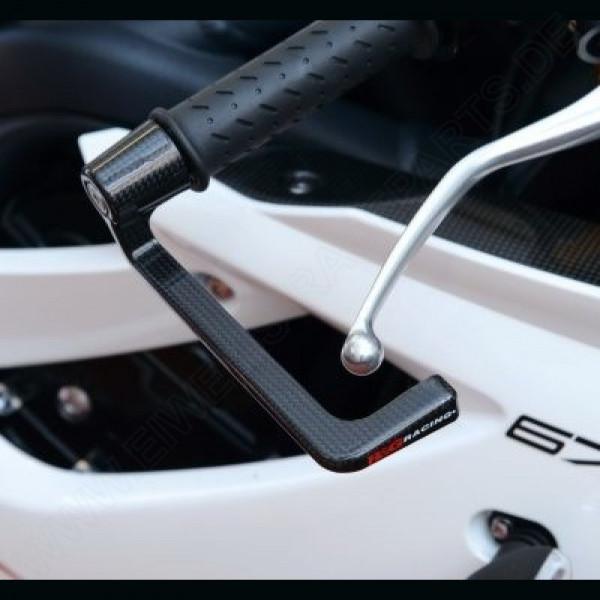 R&G Racing Carbon Bremshebel Schutz Triumph Daytona 675 / R