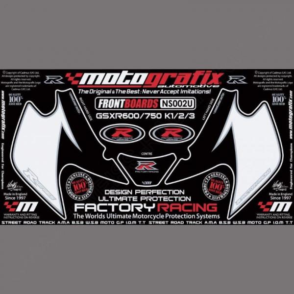 Motografix Steinschlagschutz vorn Suzuki GSX-R 750 2001-2003 NS002U