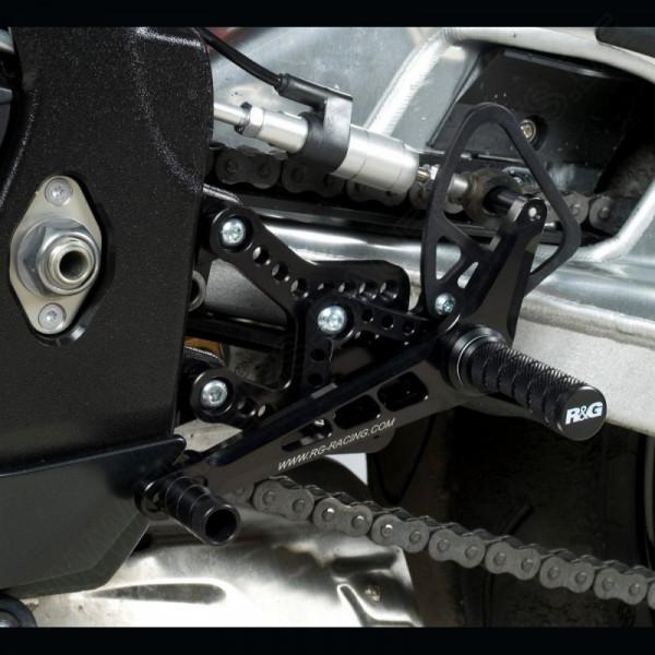NEW R&G Racing Fußrastenanlage Yamaha YZF R1 2009-2014