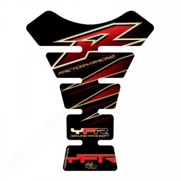 Motografix Yamaha YZF R6 / R1 / R25 / R3 3D Gel Tank Pad Protector TY006KR