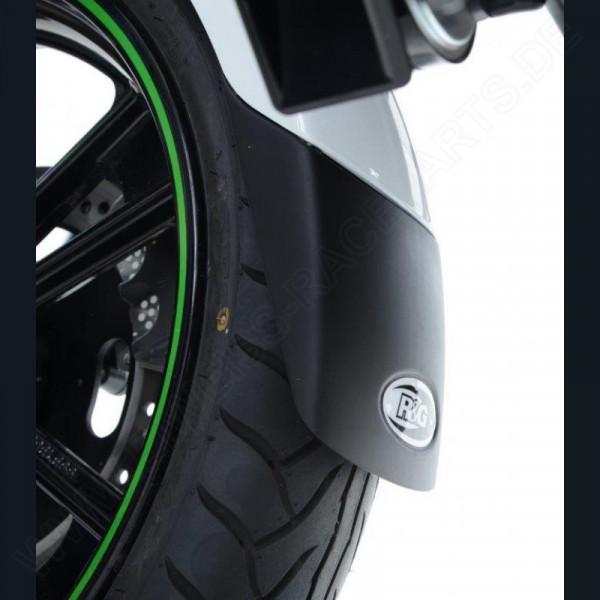 """R&G Kotflügel Verlängerung """"BLACK"""" Triumph Sprint GT / ST 1050"""