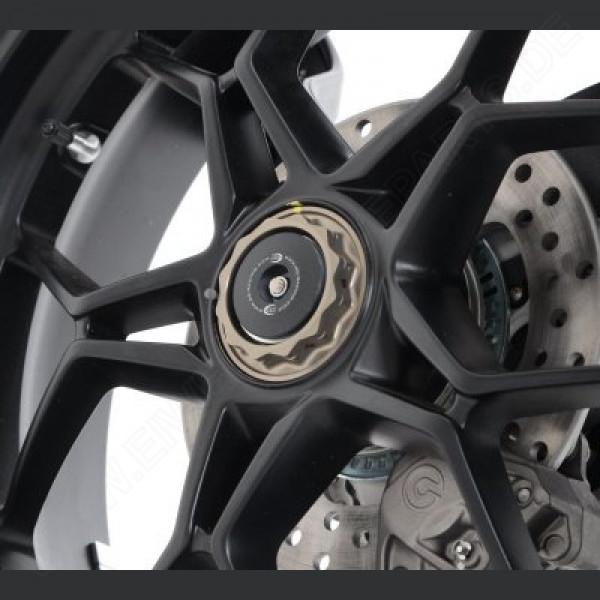 R&G Racing Achsen Abdeckung Set MV Agusta Rivale 800 2014-