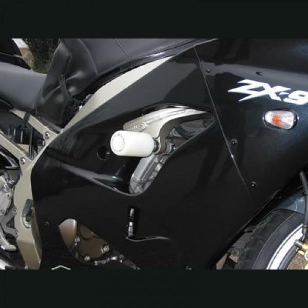 "R&G Racing Sturzpads ""No Cut"" Kawasaki ZX-9 R 2002-"