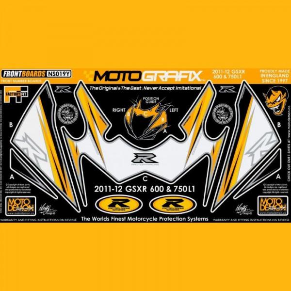 Motografix Steinschlagschutz vorn Suzuki GSX-R 600 / 750 2011- NS019Y