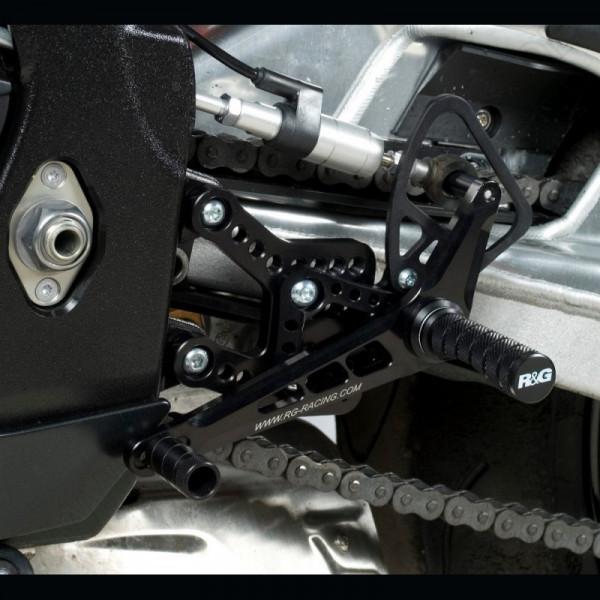 NEW R&G Racing Fußrastenanlage Suzuki GSX-R 1000 K7-K8