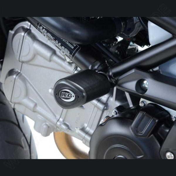 """R&G Racing Sturzpads """"No Cut"""" Suzuki SV 650 2016- / SV 650 X 2018-"""