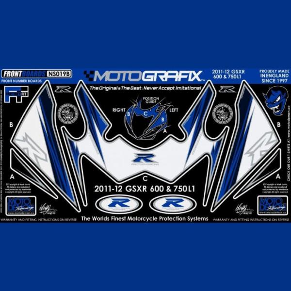 Motografix Steinschlagschutz vorn Suzuki GSX-R 600 / 750 2011- NS019B