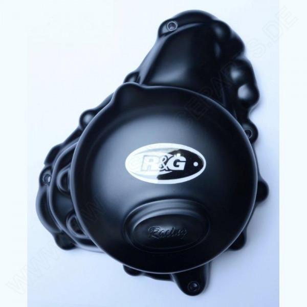 "R&G Motordeckel Protektor 2er Set ""Strong Race"" Triumph Daytona 675 2013- / 765 Moto 2"