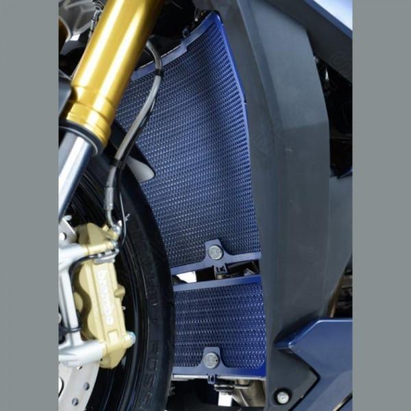 R&G Kühlergitter Dark Blue Wasserkühler BMW S 1000 RR / HP 4