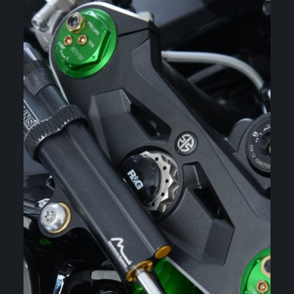 R&G Racing Gabelkopf Abdeckung Kawasaki H2 / H2 R 2015- / Z H2 2020-