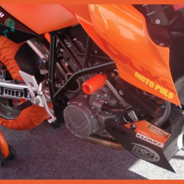 "R&G Racing Obere Sturzpads ""No Cut"" KTM 950 990 Supermoto R / SMT"
