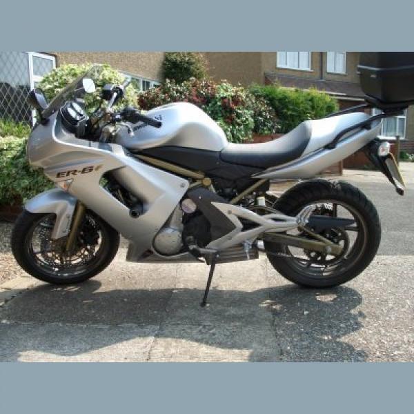 """R&G Racing Sturzpads """"No Cut"""" Kawasaki ER 6-F 650 R -2008"""