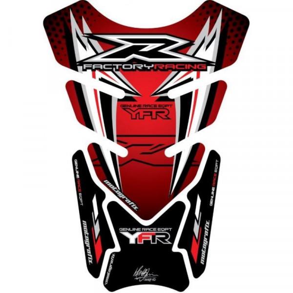 Motografix Yamaha YZF R6 / R1 / R25 / R3 3D Gel Tank Pad Protector TY015RS