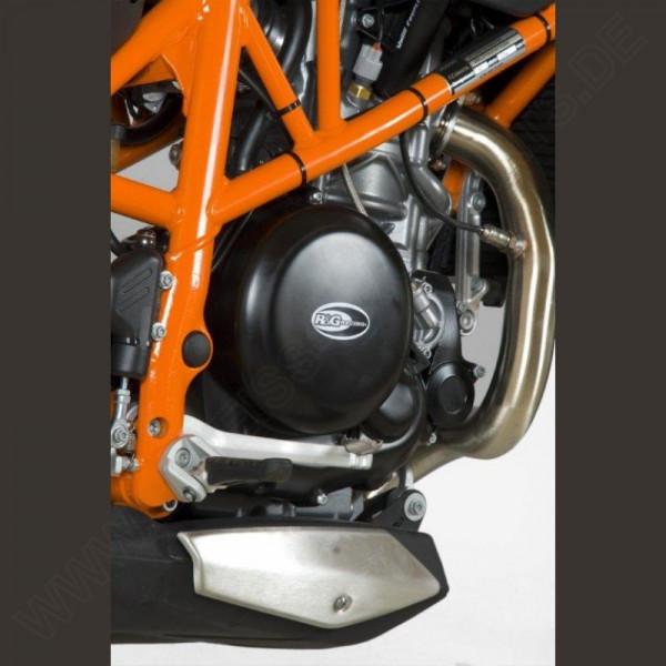 R&G Racing Motordeckel Protektor Set KTM Duke 690 / 690 R 2012-