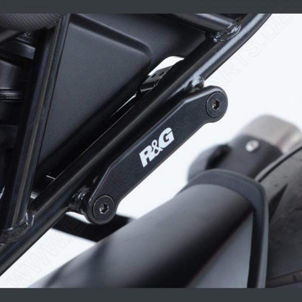 R&G hintere Fußrastenabdeckung KTM RC 125 / 390 2017-